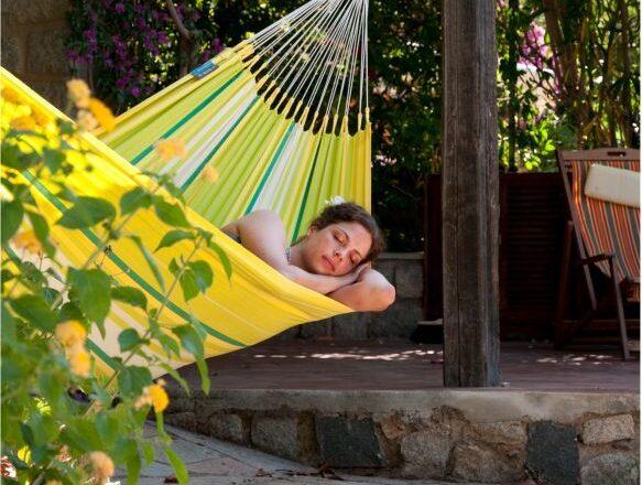 Relax w hamaku, najwyższą formą wypoczynku