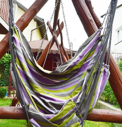 Hamak- idealne miejsce na odpoczynek