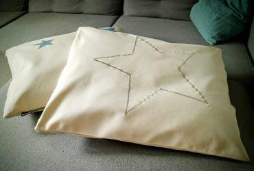 Poduszka hamakowa duża HP z haftem