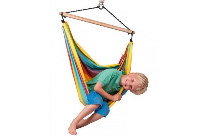 Fotele hamakowe do pokoju dziecka