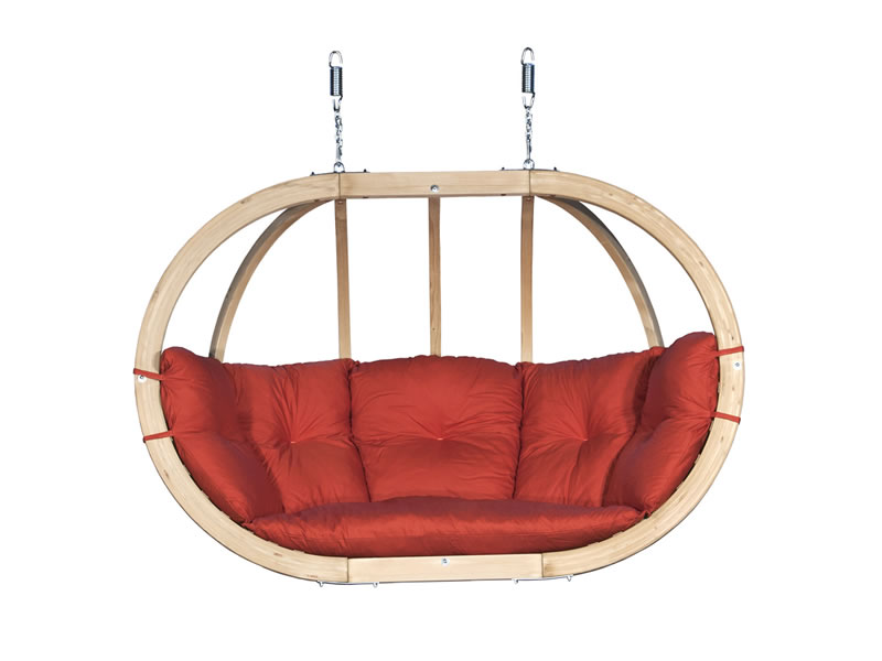 Fotel hamakowy drewniany Swing Chair Double