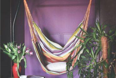 Inspirujące wnętrza z fotelem hamakowym w roli głównej
