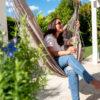 Krzesła brazylijskie idealne do ogrodu i na taras